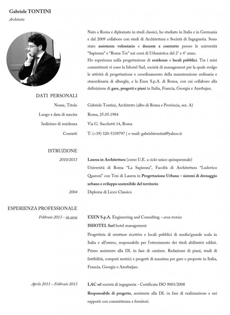 Estremamente Un Perfetto Curriculum da Architetto: 5 Errori Che Forse Commetti  AV24
