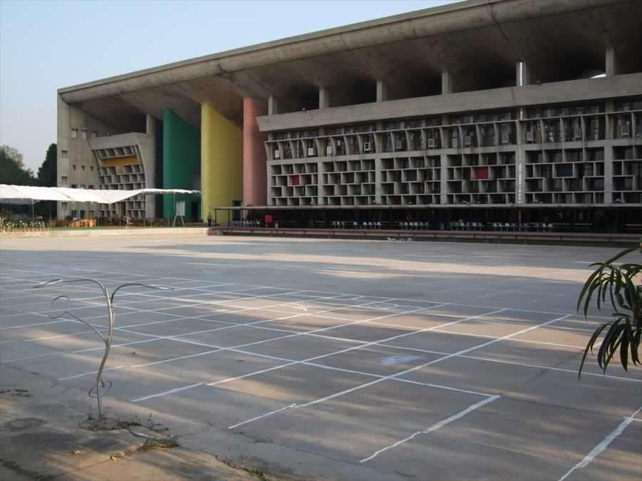 Le Corbusier, Corte Suprema, Chandigarh