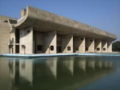 Le Corbusier, Palazzo dell'assemblea, Chandigarh