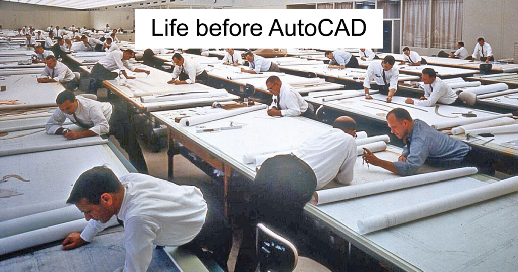 Life before archicad vs autocad