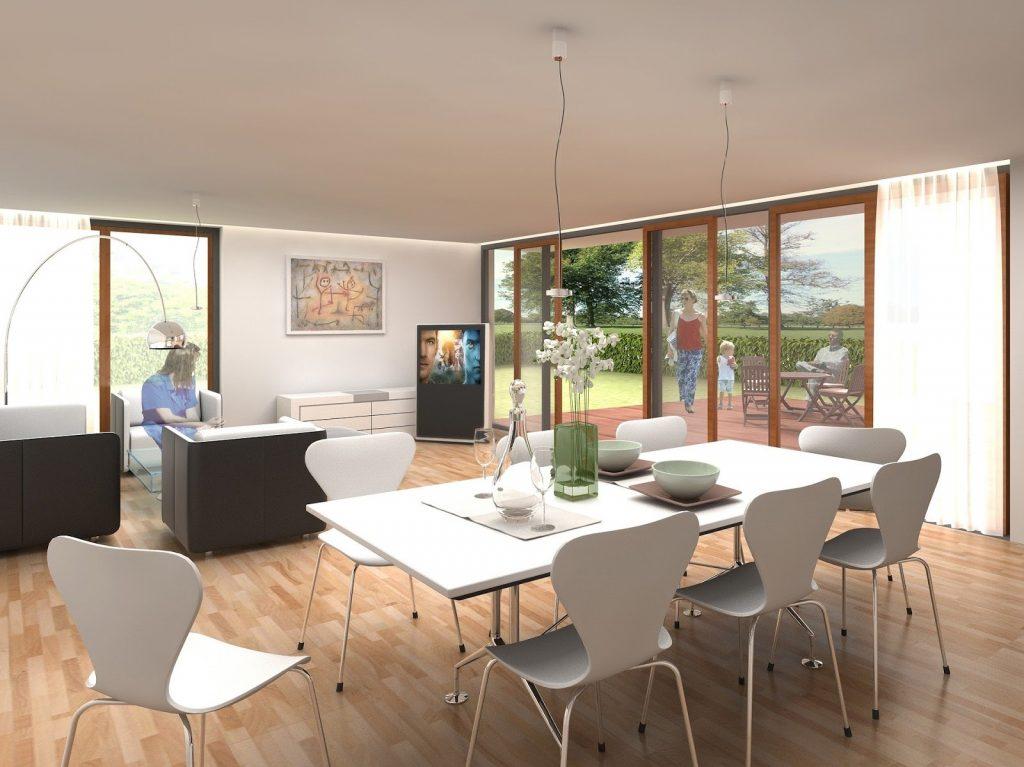 rendering architettura interni