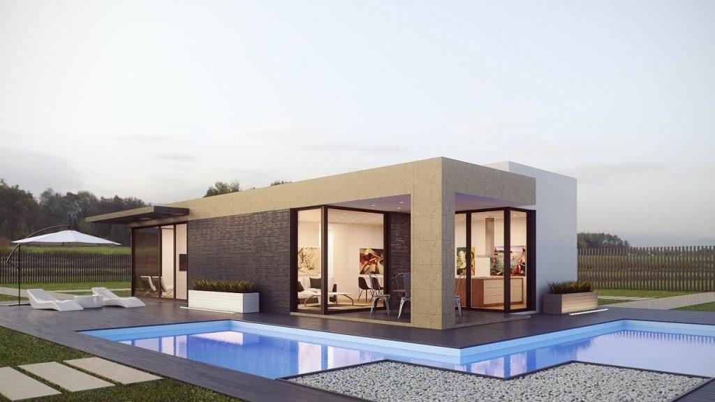 rendering esterni architettura