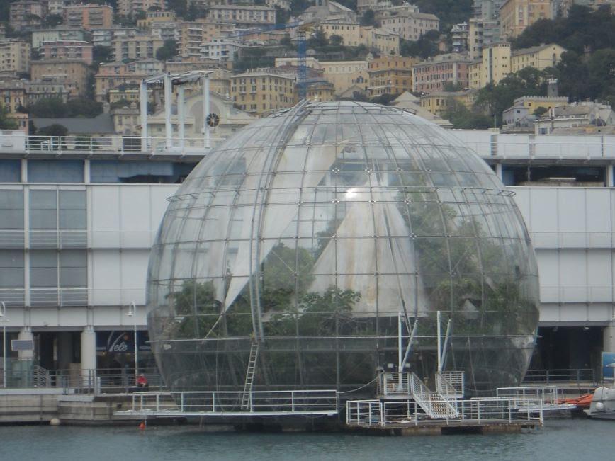 Renzo Piano opere: La Biosfera