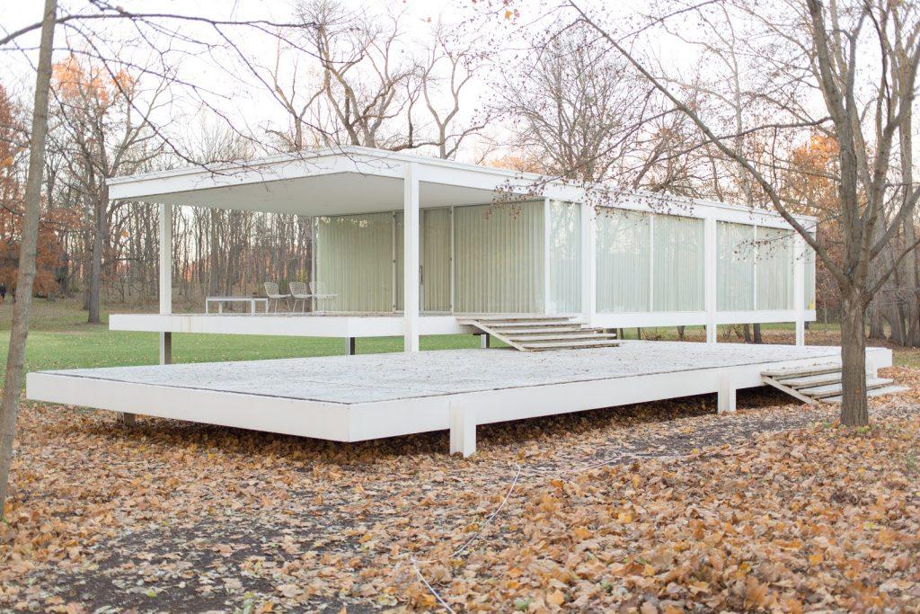 Mies van der Rohe: casa Farnsworth