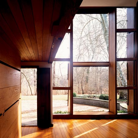 Esherick House: finestre