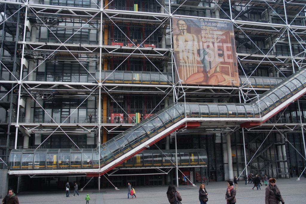 Architetti italiani famosi: Centre Pompidou