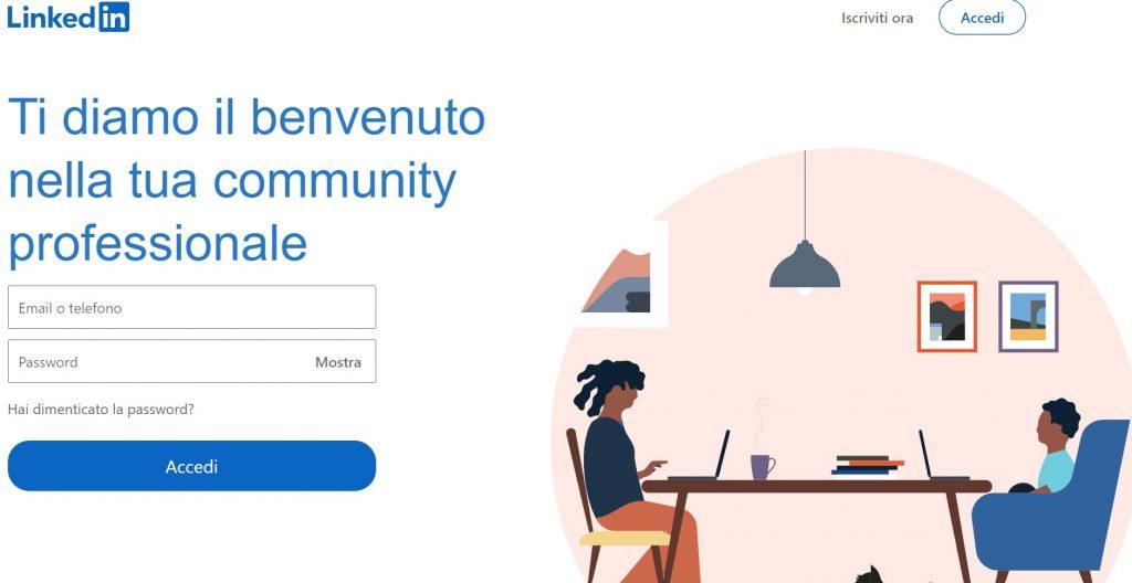 piattaforme social per architetti: LinkedIn